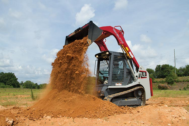 Takeuchi TL 8 Specifications & Technical Data (2015-2019