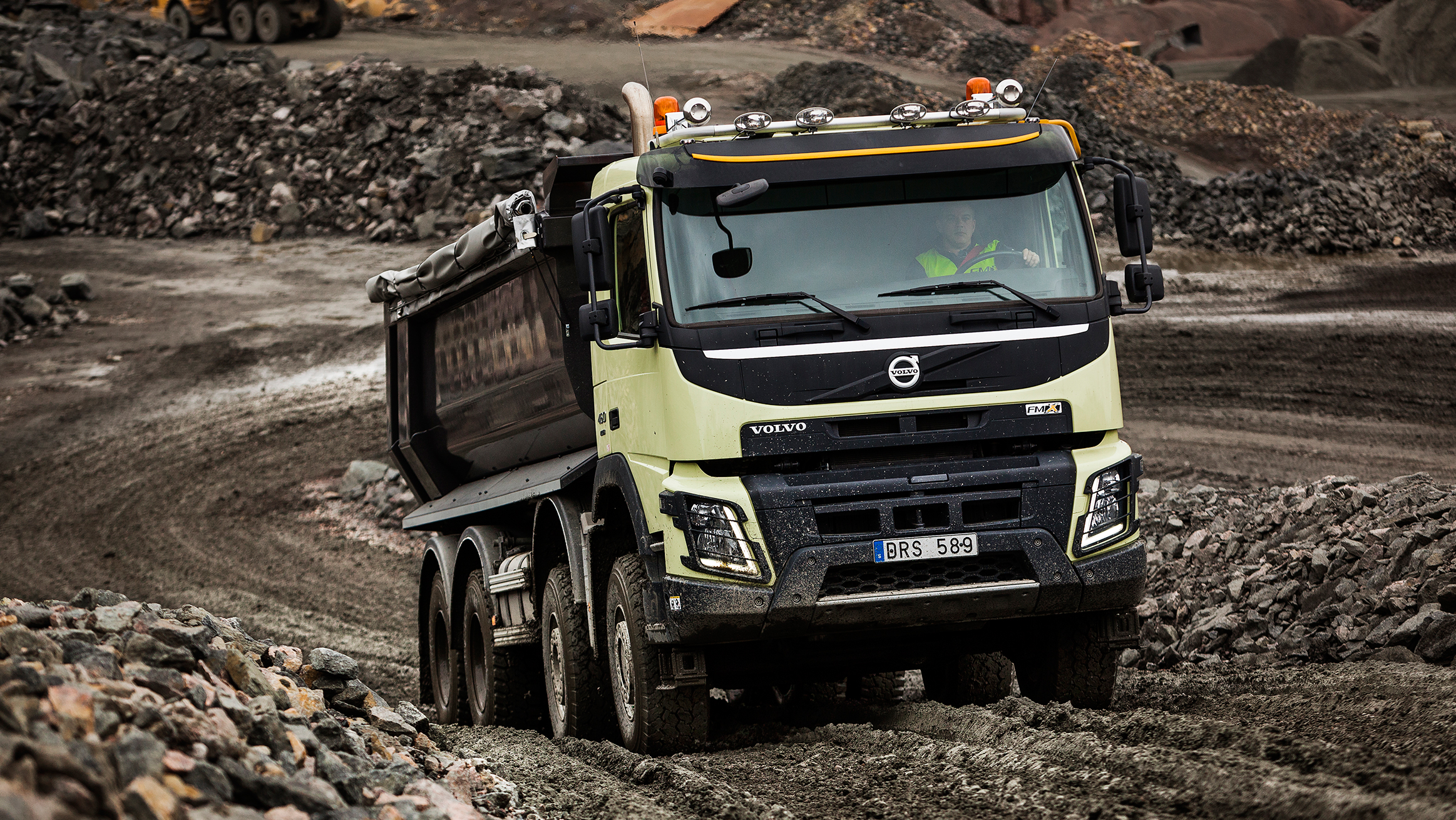 Volvo Trucks FMX11 6x4 Rigid - High T Ride Tipper Truck