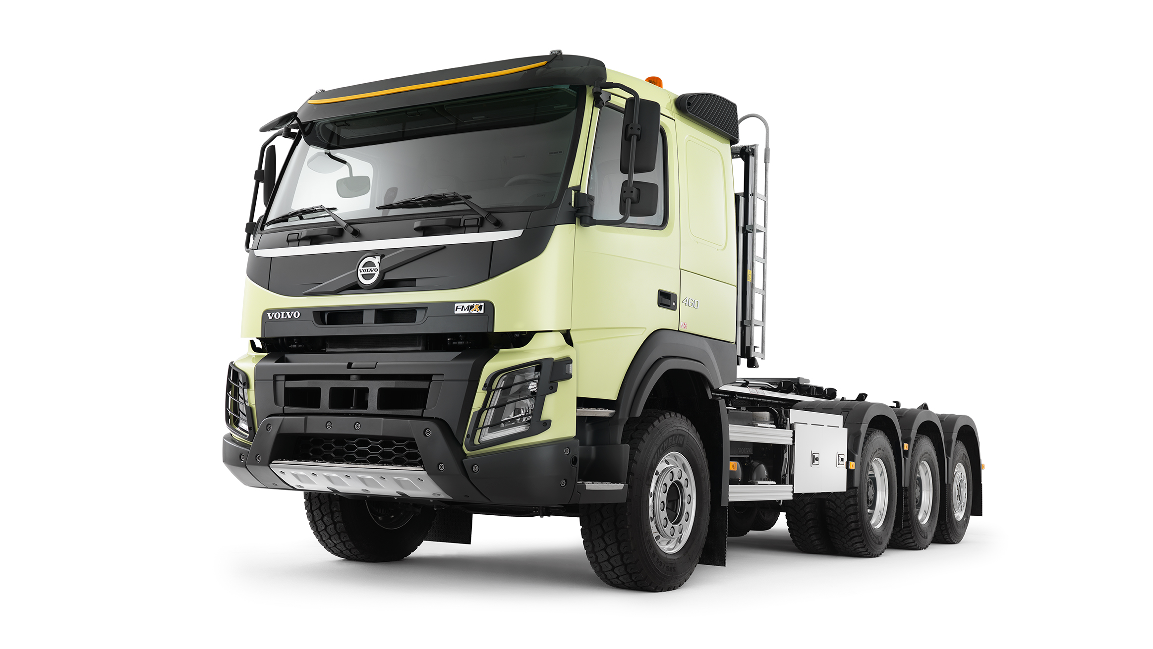 Volvo Trucks FMX11 8x6 Rigid - XX-High B Ride Specifications