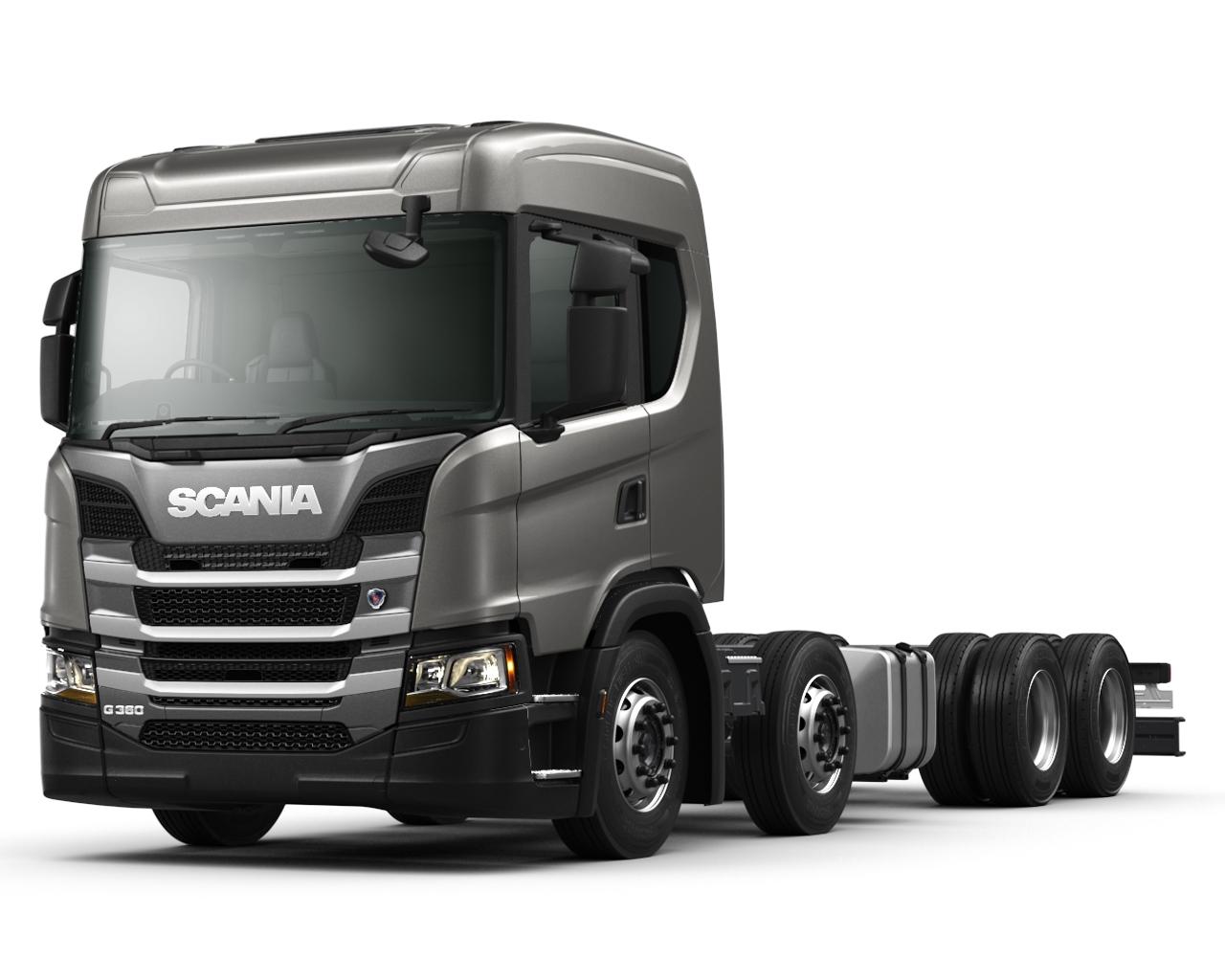 Scania G 360 B8x4NA Kipper LKW