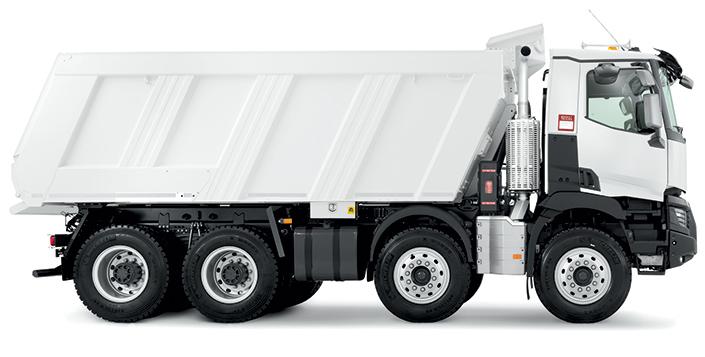 Renault K 480.35 6X6 R HEAVY E6 Tipper Truck