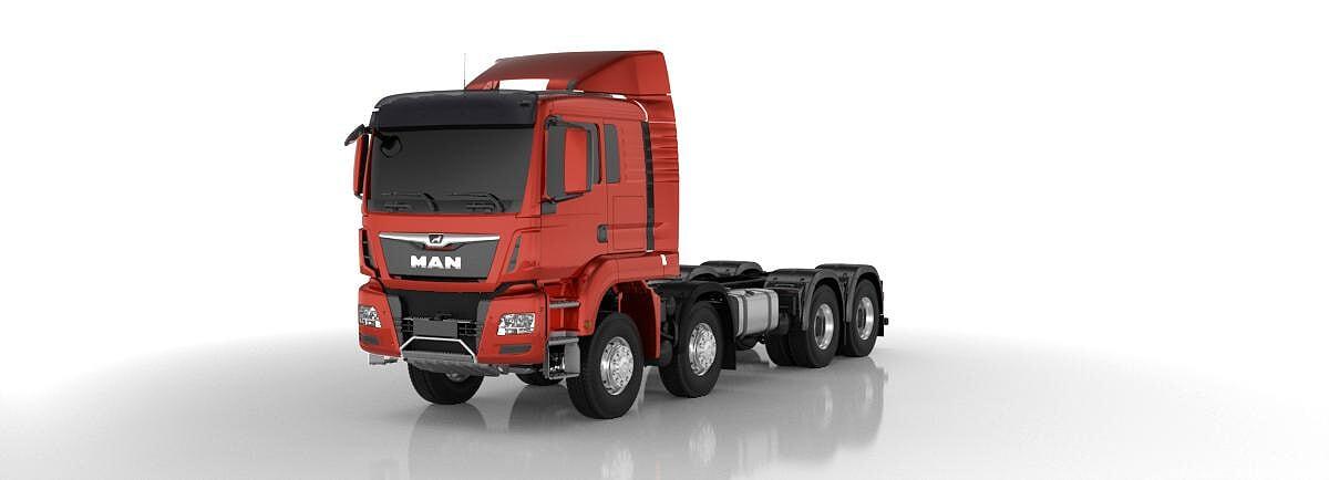 MAN TGS 41.500 8x8 Kipper LKW