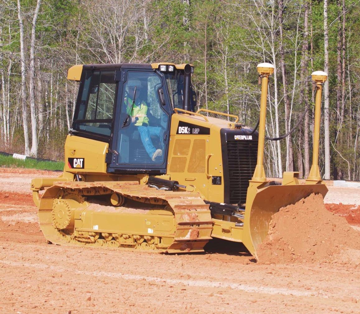 Caterpillar D 5 K 2 XL Interim Tier 4 specifications