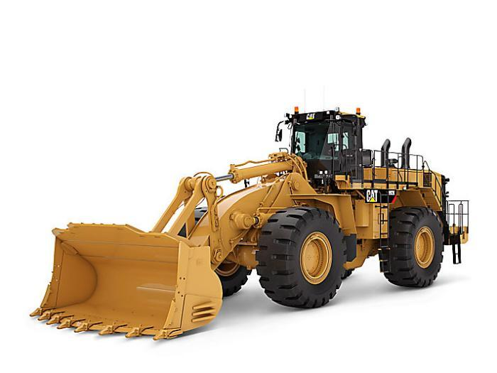 Caterpillar 992K Radlader