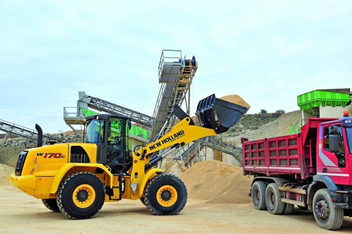 New Holland W170C ZB Specifications & Technical Data (2011