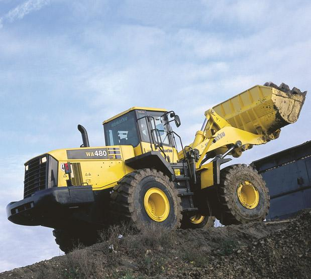 Komatsu Wa480 5 Specifications Amp Technical Data 2001 2005