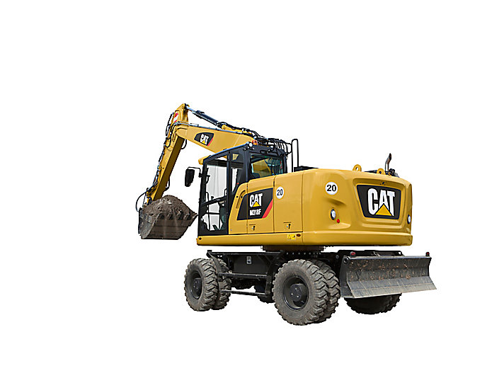 Caterpillar M318F Specifications & Technical Data (2017-2019